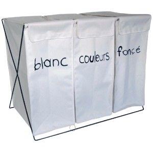 paniers linge triple design 450 pratik pinterest panier linge panier et design. Black Bedroom Furniture Sets. Home Design Ideas