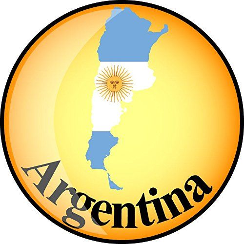 Argentina Map Flag Glossy Home Decal Vinyl Sticker 12 X 12 Check Out This Great Product Affiliate Link Win Argentina Map Vinyl Sticker Window Stickers