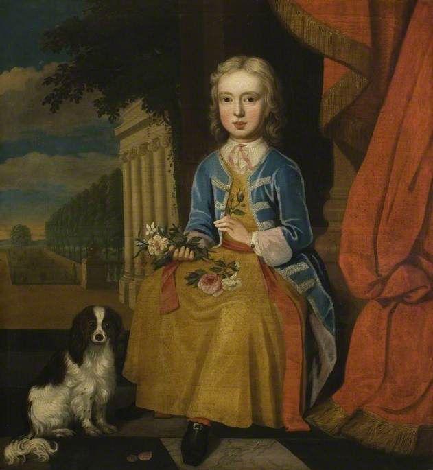 Bbc Your Paintings Sir Edmund Isham 1690 1772 As A Boy Boy Art Art Uk Art