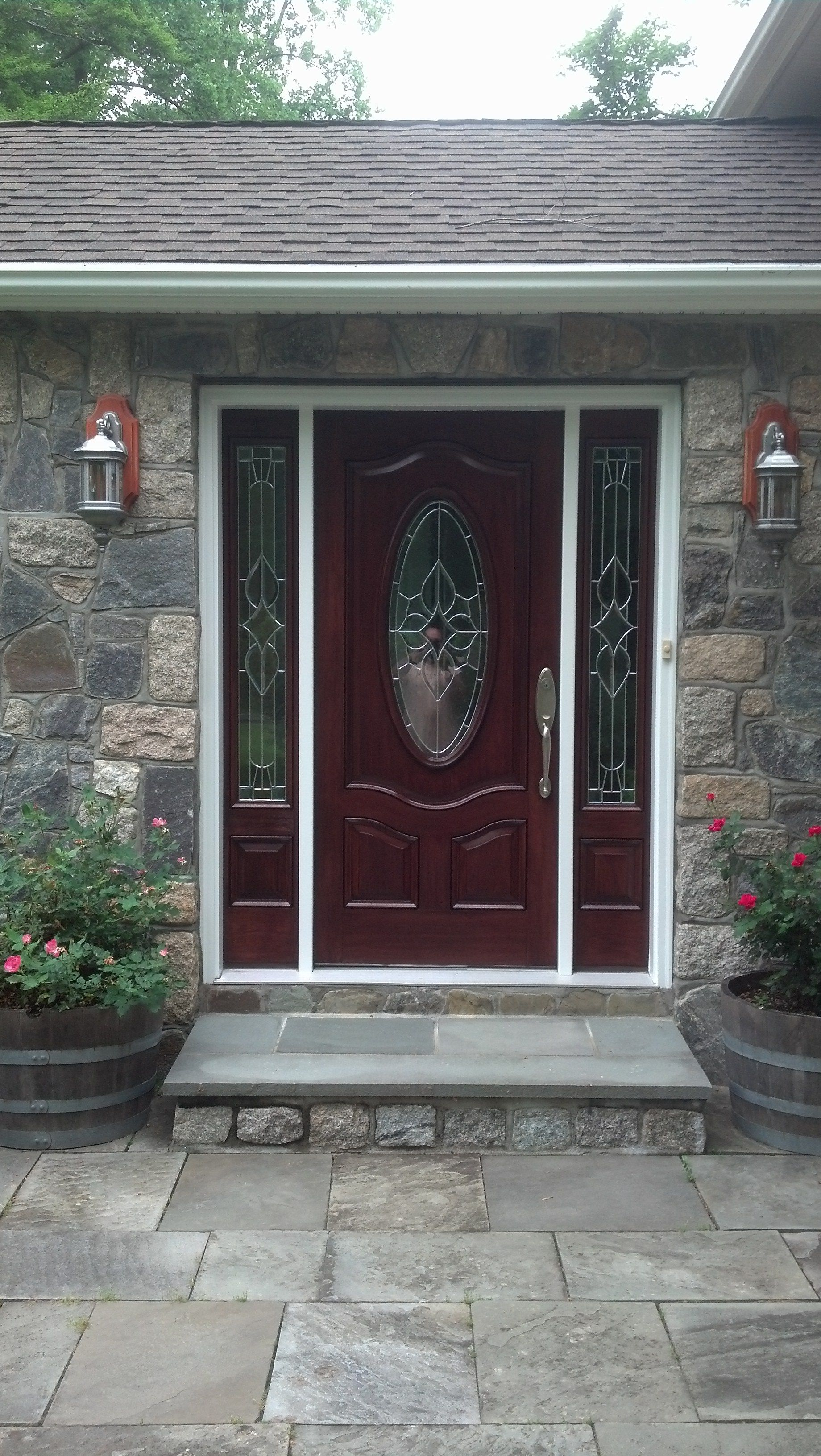 Front Door Thermatru Refinishing In Yorktown, NY | A.G. Williams Painting  Company