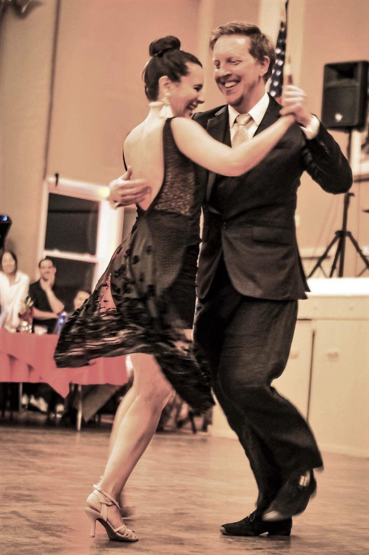 7fb21e9e52ac Adam & Ciko at Philly Tango Fest | ples | Tango dress, Tango ...