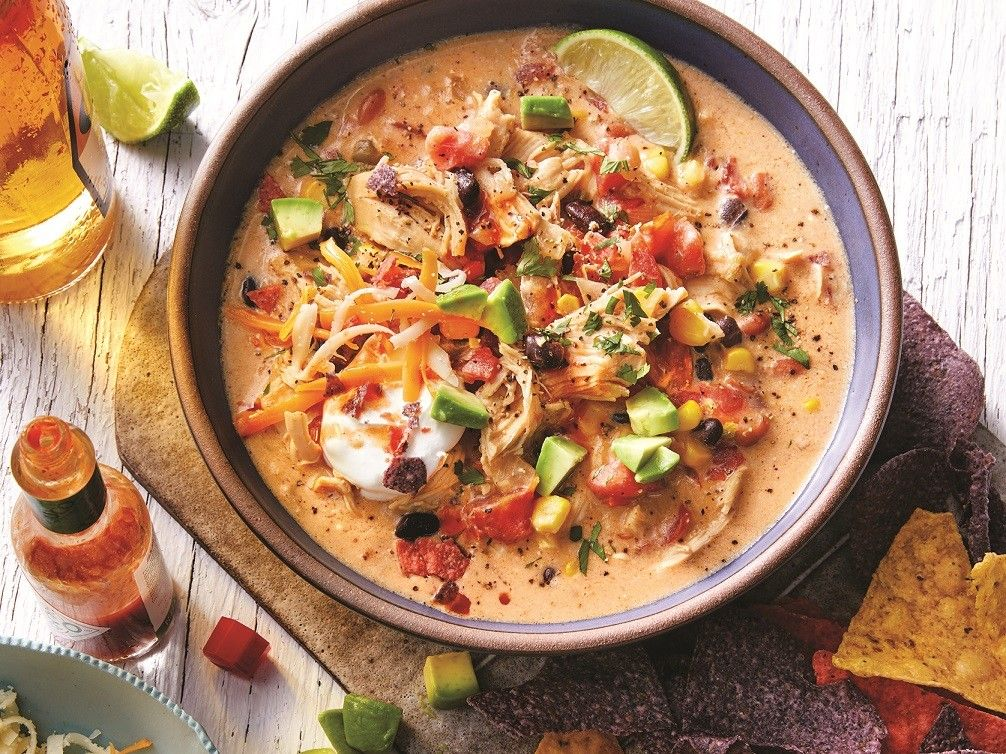 Martina McBride's Creamy Chicken Tortilla Soup Recipe