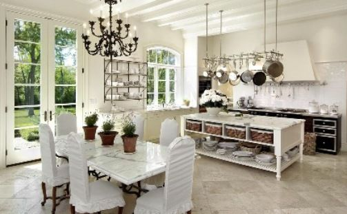 White Marble Top Kitchen Table Custom Decorating