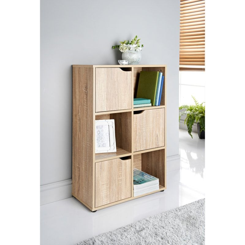 Add Some Elegant Storage Space To Your Home With This Fabulous 6 Cube Shelving Unit From Lokken Can Store Picture Fr Cube Shelving Unit Shelving Unit Shelving
