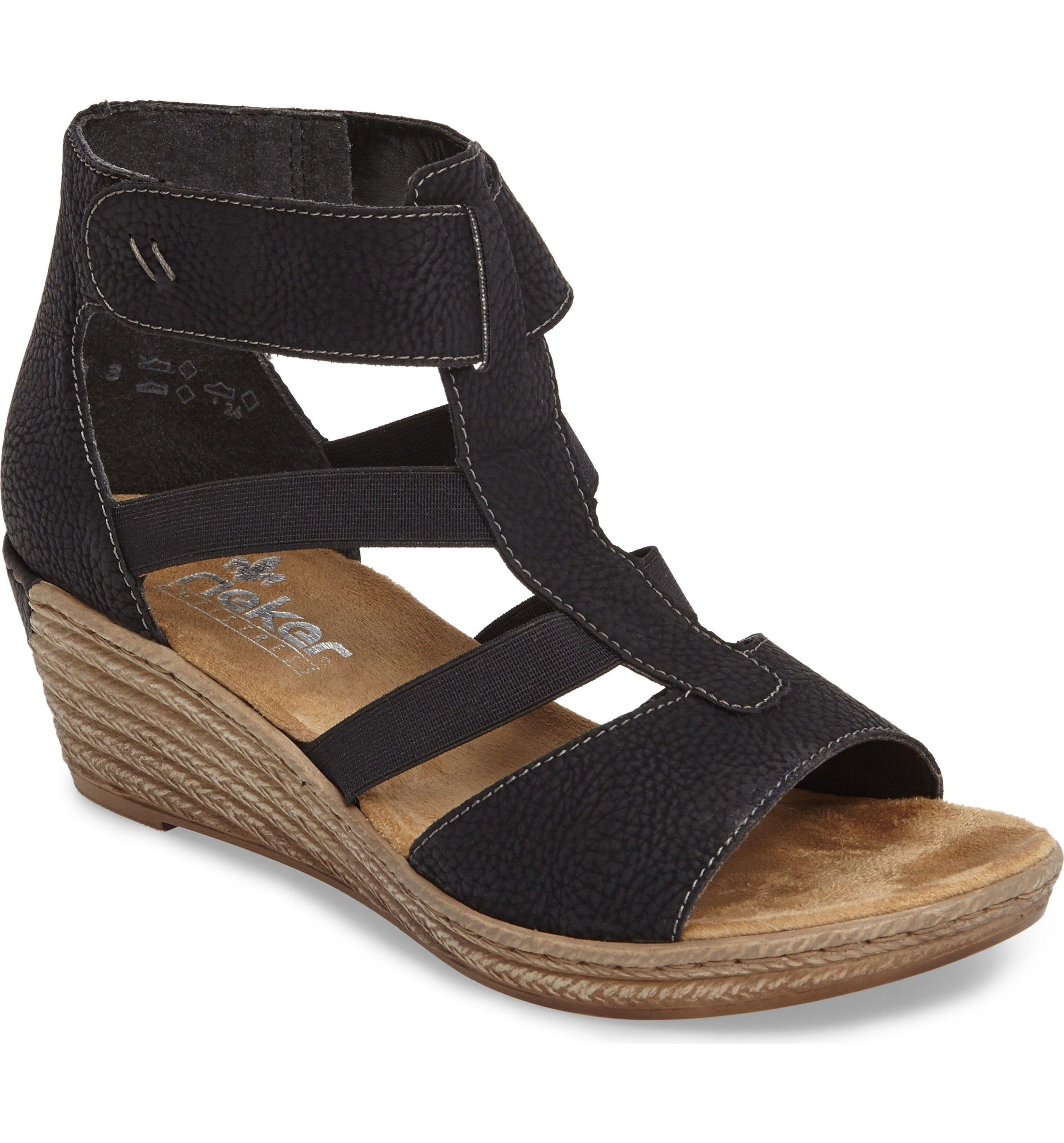 Rieker Antistress Fanni 39 Wedge Sandal (Women | Women's