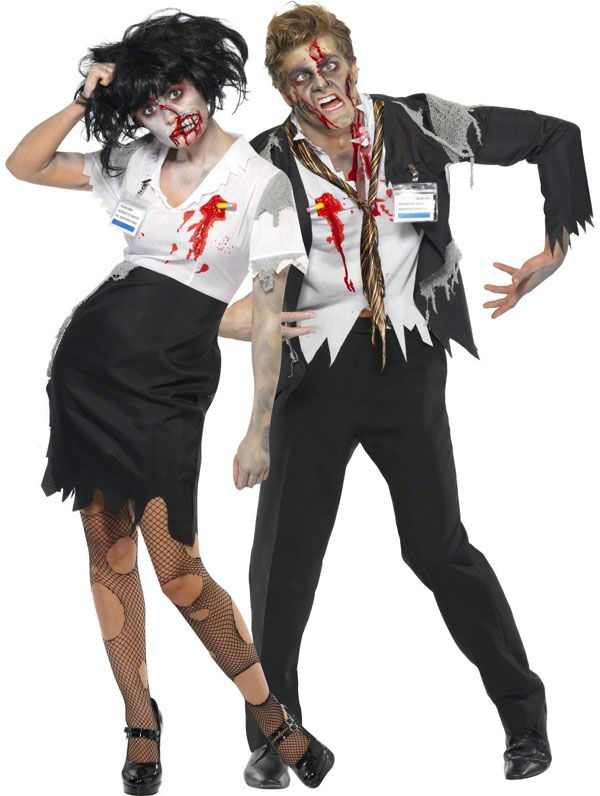 Disfraces para ir en Pareja - Disfraz de Zombie #disfraces - mens halloween costume ideas 2013