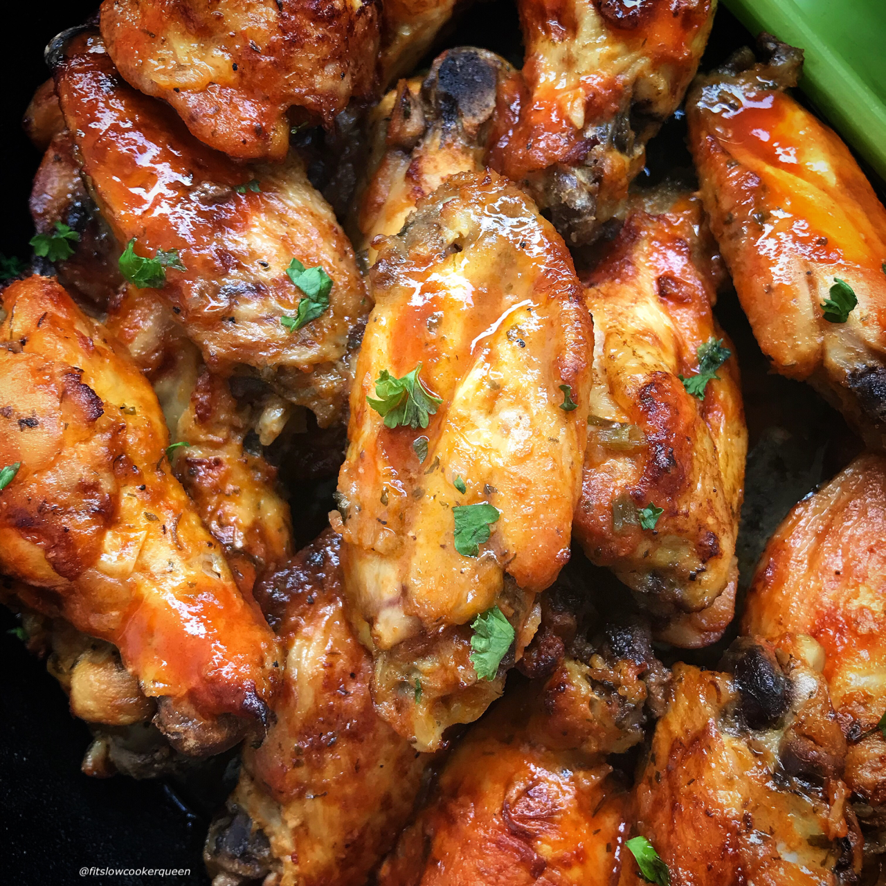 Here Are Healthy Slow Cooker Buffalo Chicken Wings That