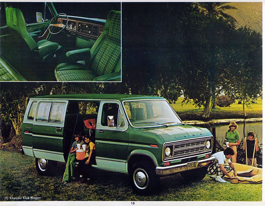 1978 Van My Dad Had Right Up Until 2012 His Was Dark Green With