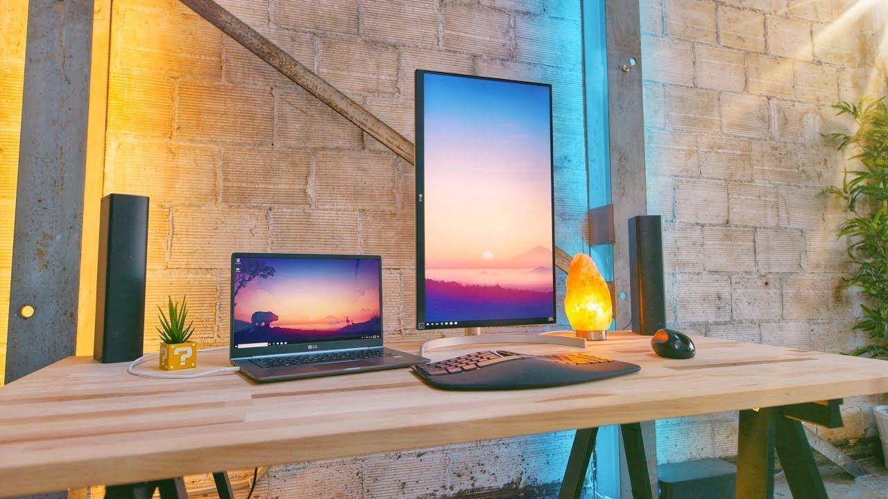 - The Perfect Minimal Laptop Desk Setup Diy Computer Desk, Desk