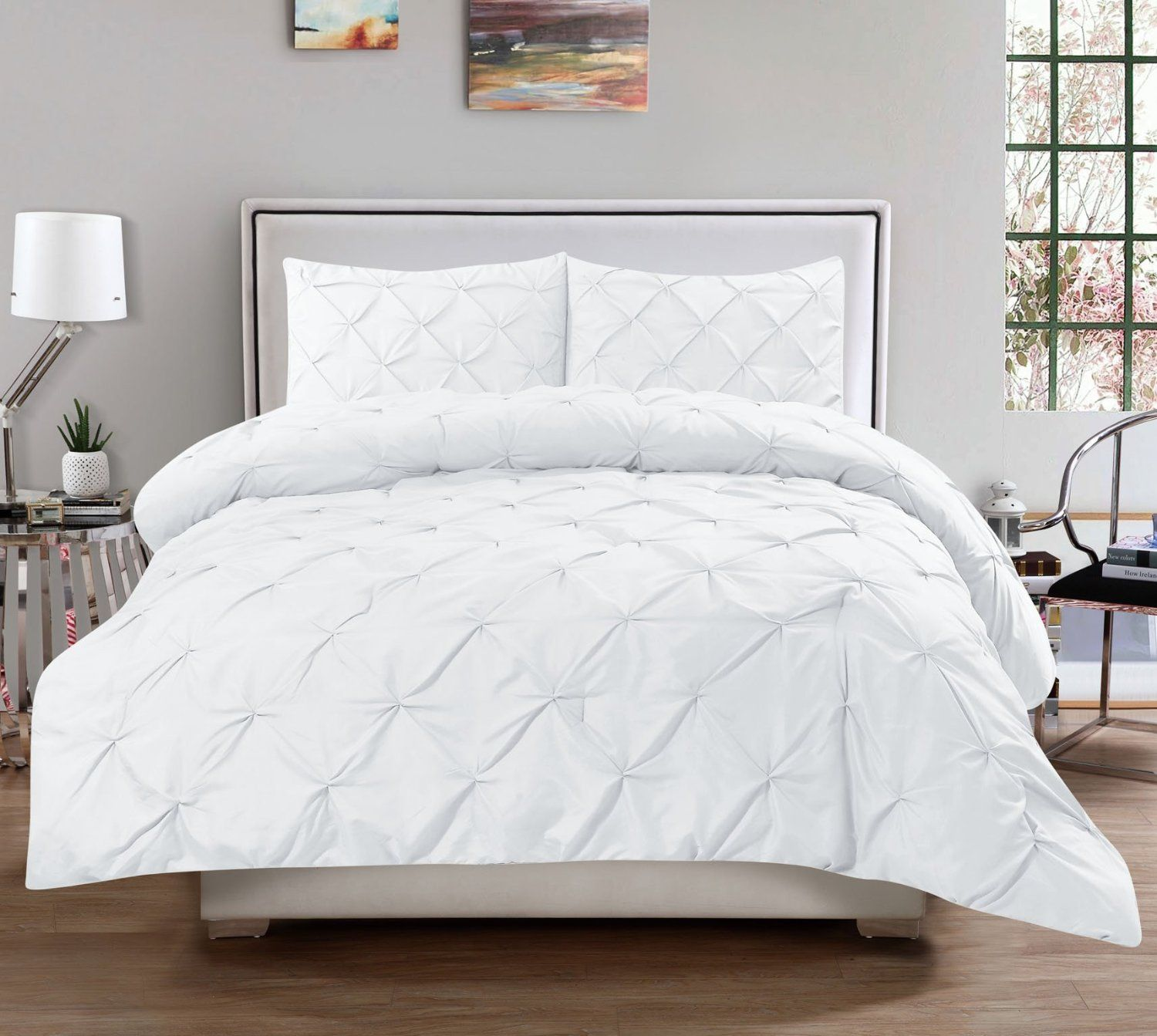 home shipping today comforter puredown bedding overstock james bath lightweight goose free down st product white
