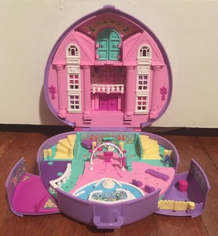 1994 Polly Pocket Polly's Wonderful Wedding Party Musical
