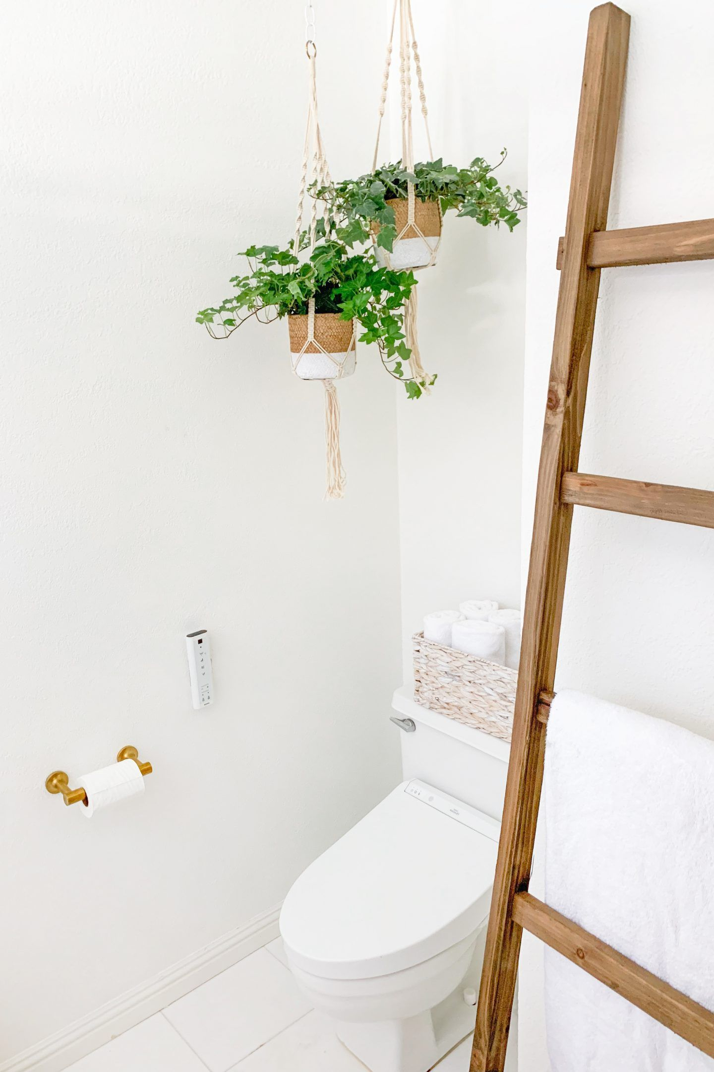 Floral Bathroom Remodel REVEAL  Lombard and Fifth  Bathroom wall