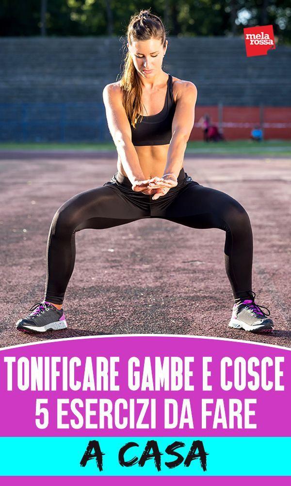 Muskelaufbau für Beine und Oberschenkel: 5 Übungen für zu Hause   - Fitness - #Beine #Fitness #für #...