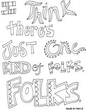 Literature Quotes Coloring Pages