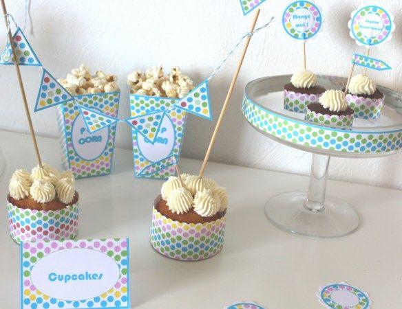Kit sweet table confetti 8 cours de cuisine pour - Cours de cuisine enfant ...