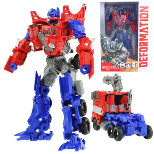 Transformers human alliance optimus prime metal