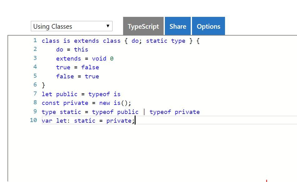 TS is just JS more keywords  Change my mind #typescript #js
