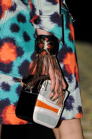 The Spring 2013 Accessories Report - Fringe Benefits - Kenzo