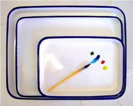 Watercolor palette 11 x 15 inch Butcher Tray: $12.84