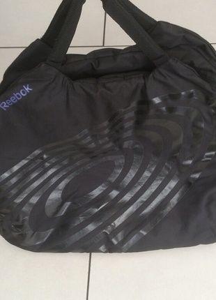 Kaufe meinen Artikel bei #Mamikreisel http://www.mamikreisel.de/kleidung-fur-madchen/kinder-handtaschen/27458256-reebok-sporttasche-madchen-easytone-lila-schwarz
