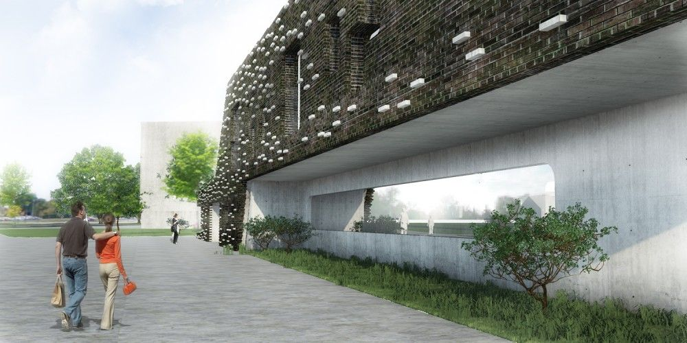 Mediatheque / Complex City