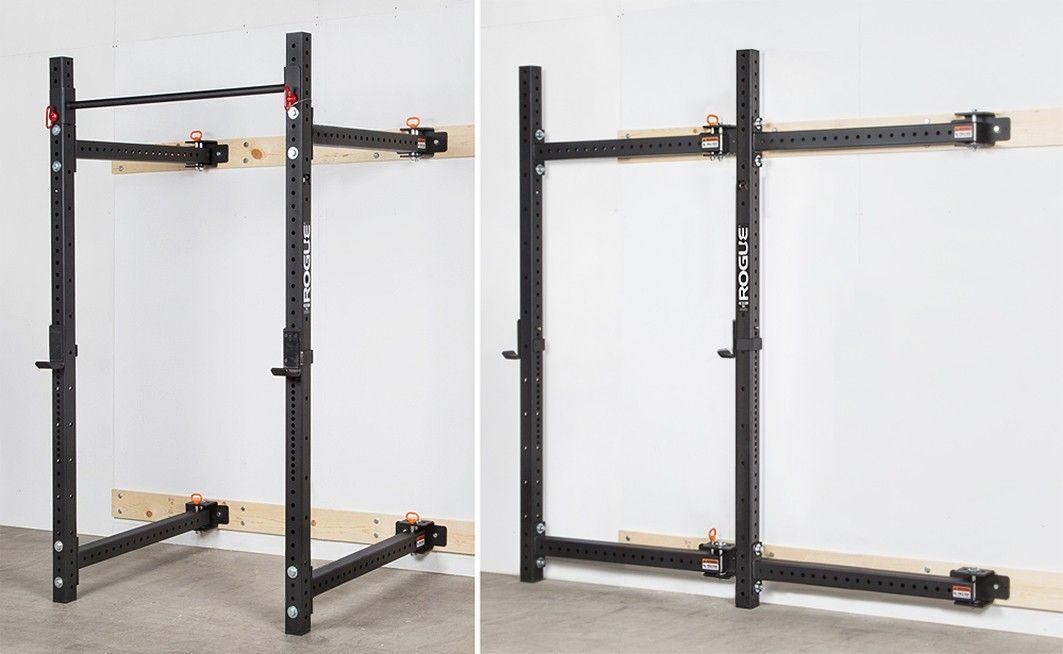 Rogue rml 3w fold back wall mount rack rogue fitness fitness