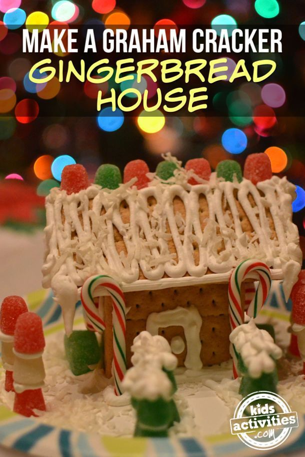 The Absolutely Best Gingerbread House Glue | Graham ...