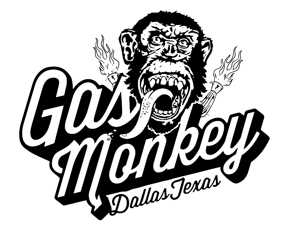 Gas monkey logo gas monkey pinterest camisetas for Logos de garajes