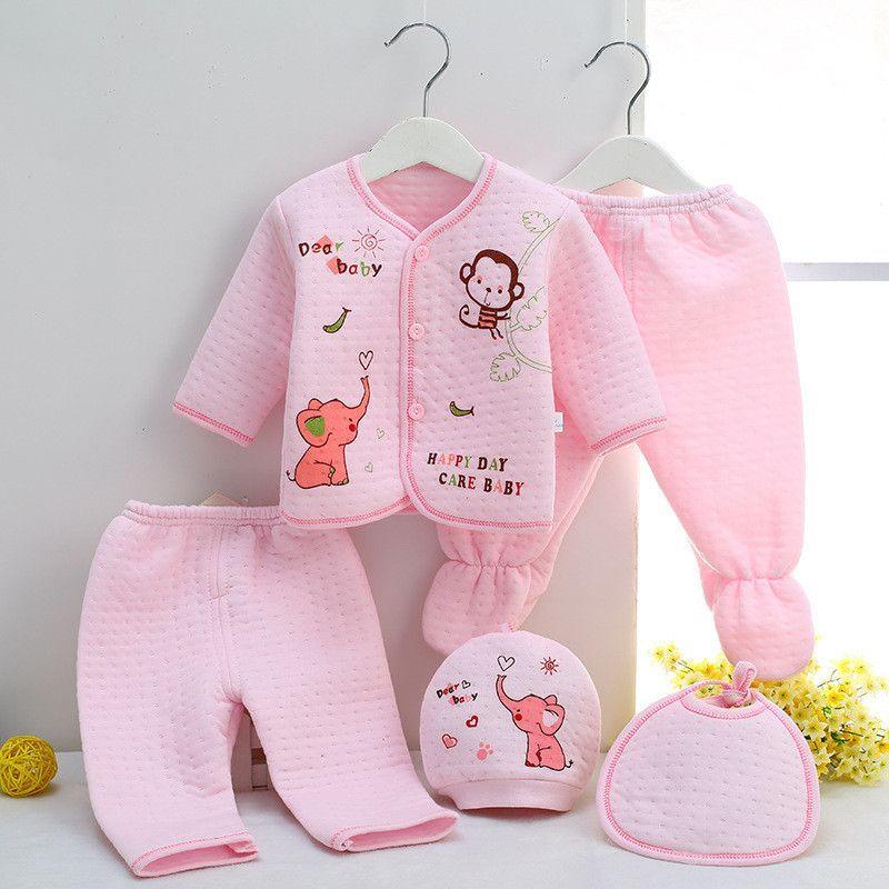 95235e6a5 Autumn Winter Baby Boy Clothing Set Newborn Infant Long Sleeve Baby ...