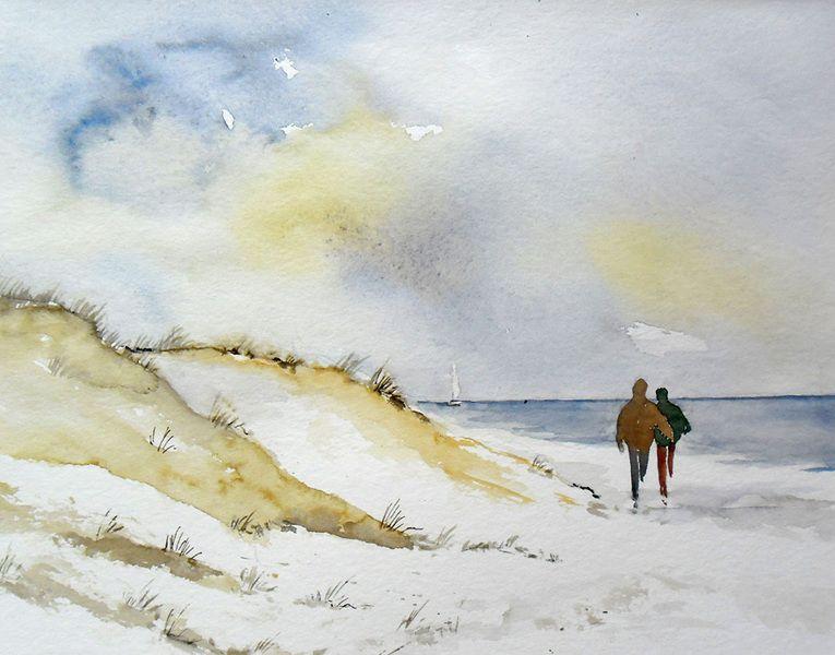 Aquarell watercolor 24 x 32 cm aquarelle pinterest for Pinterest aquarell