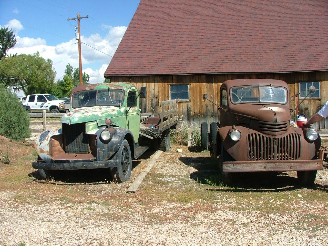 Old trucks and things