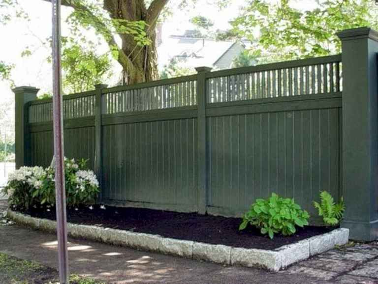 29 DIY Front Yard Privacy Fence Remodel Ideas i 2020 ... on Front Yard Renovation Ideas id=62722