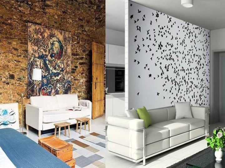 unique wall designs | home interior design