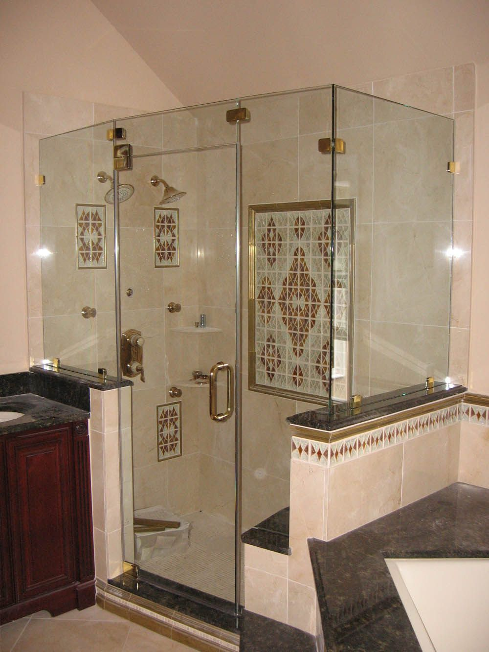 How To Clean Glass Shower Doors Double Sliding Glass Shower Doors