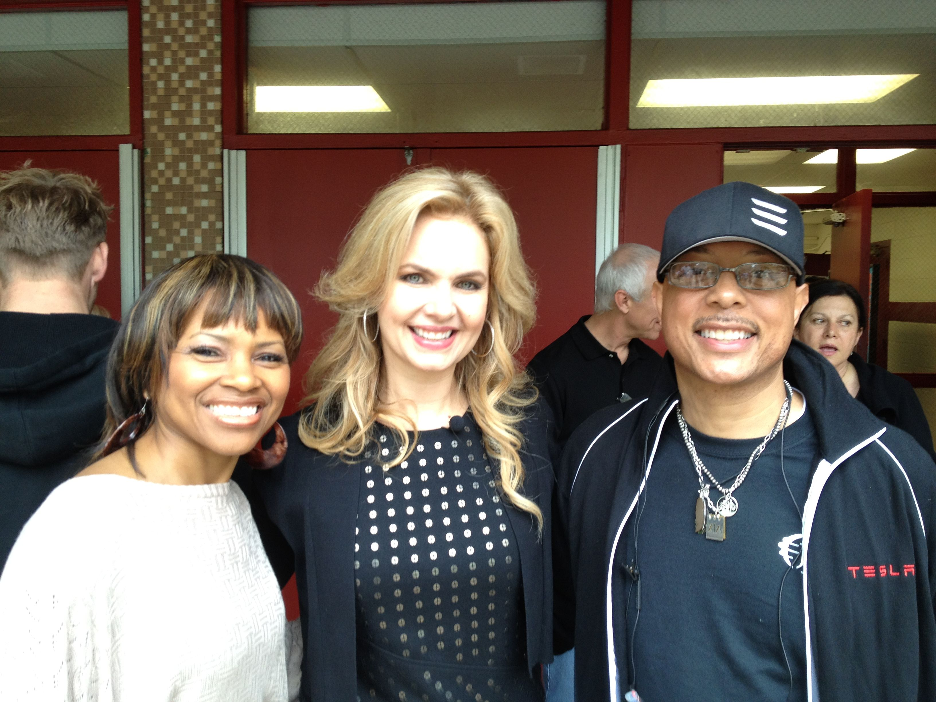 Victoria Osteen, Carla, and I @ Generation Hope Project in Washington, D.C.