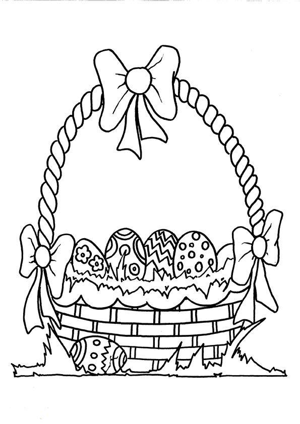 Ostern 1 | coloring 3 | Pinterest | Ostern, Malvorlagen ostern und ...