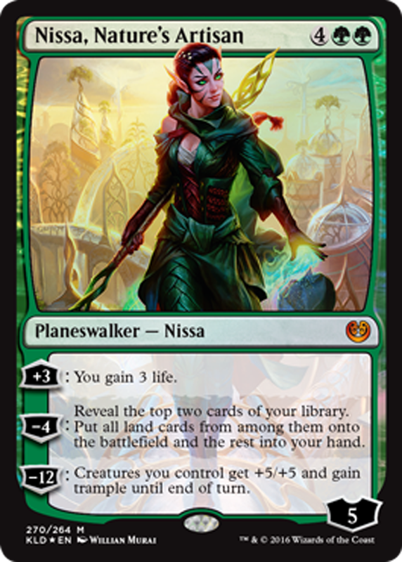 Image result for mtg cards planeswalkers nissa