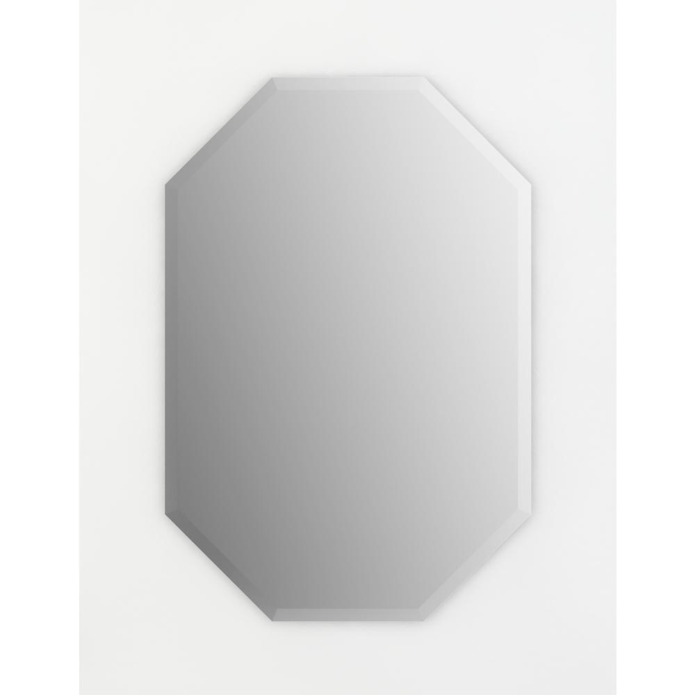 Delta 27 in. x 40 in. (L3) Octagonal Frameless TRUClarity Deluxe ...