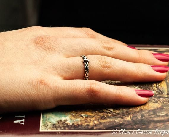 Infinity Outlander Wedding Ring Claires Scottish Outlander Ring