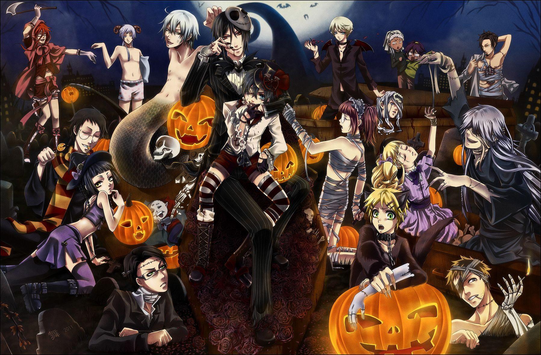 Kuroshitsuji Halloween by on