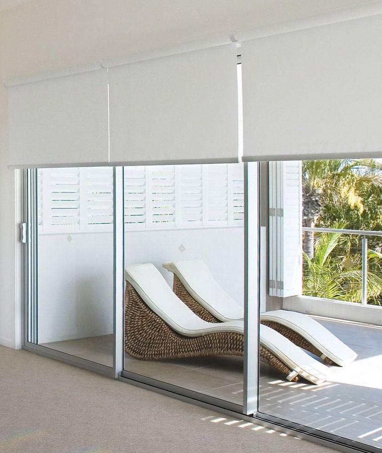 rideau baie vitree store enrouleur