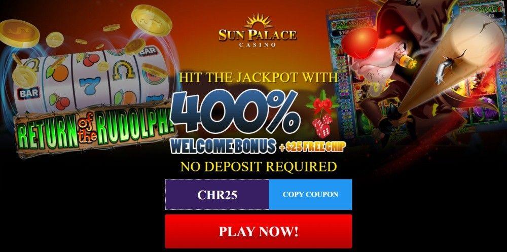 Sun Palace casino bonus codes – free offers!