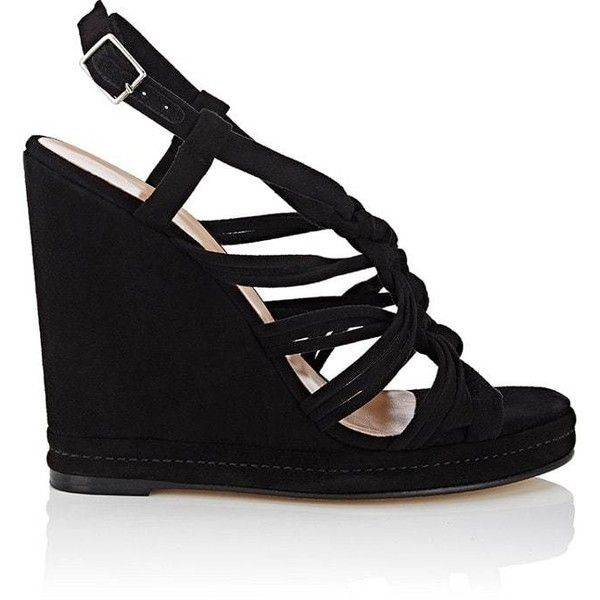 Womens Suede Platform Wedge Sandals Barneys New York Pay With Paypal Cheap Price Really Sale Online Sale Very Cheap Outlet Discount Sale t8LQoyv