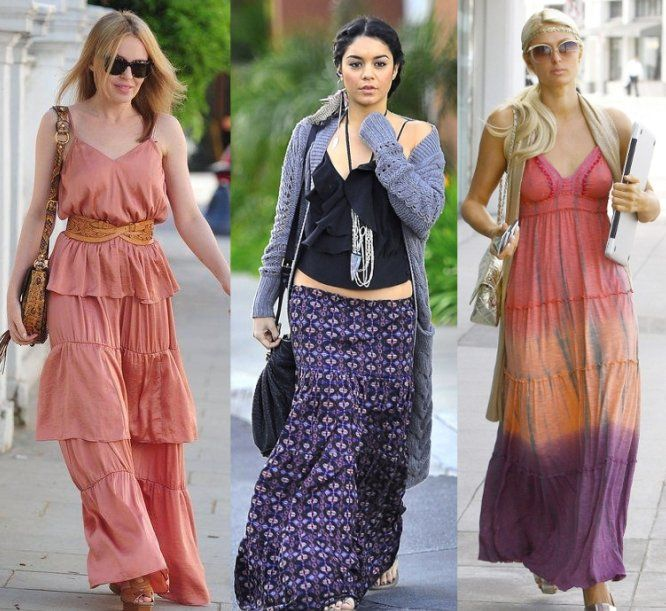 Women's Fashion Trends in Blue | Maxi dresses A Beautiful Long ...