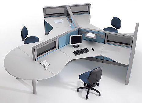 Vecteur D Image Pour L Entreprise Le Design Du Mobilier De Bureau