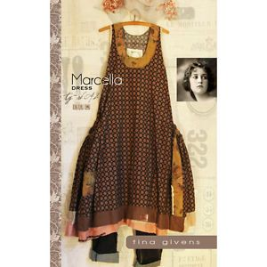 from Tina Givens NEW THE BELLA DRESS SEWING PATTERN