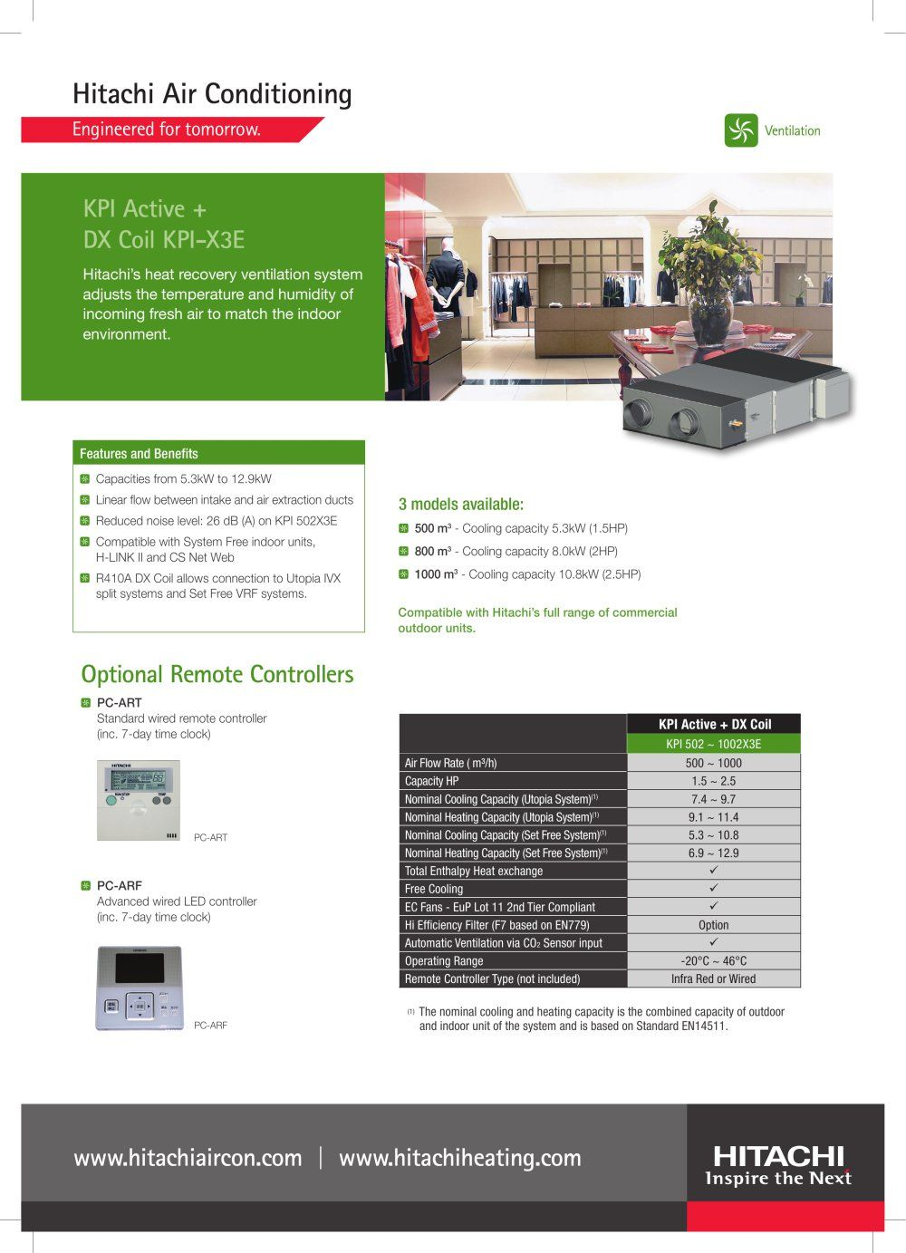 Kpi Active With Images Heat Recovery Ventilation System Heat