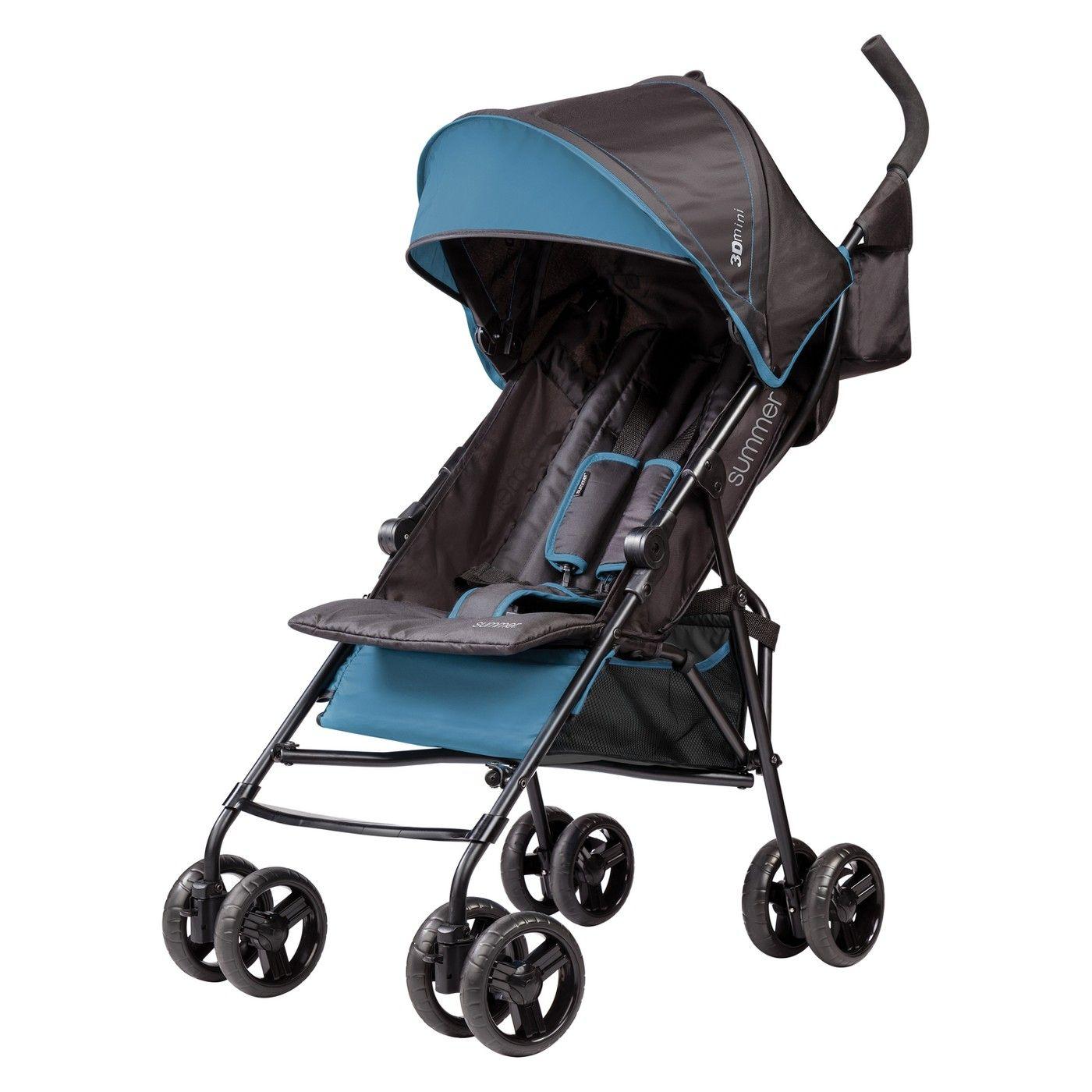 Summer 3Dmini Convenience Stroller Blue Stroller, Baby