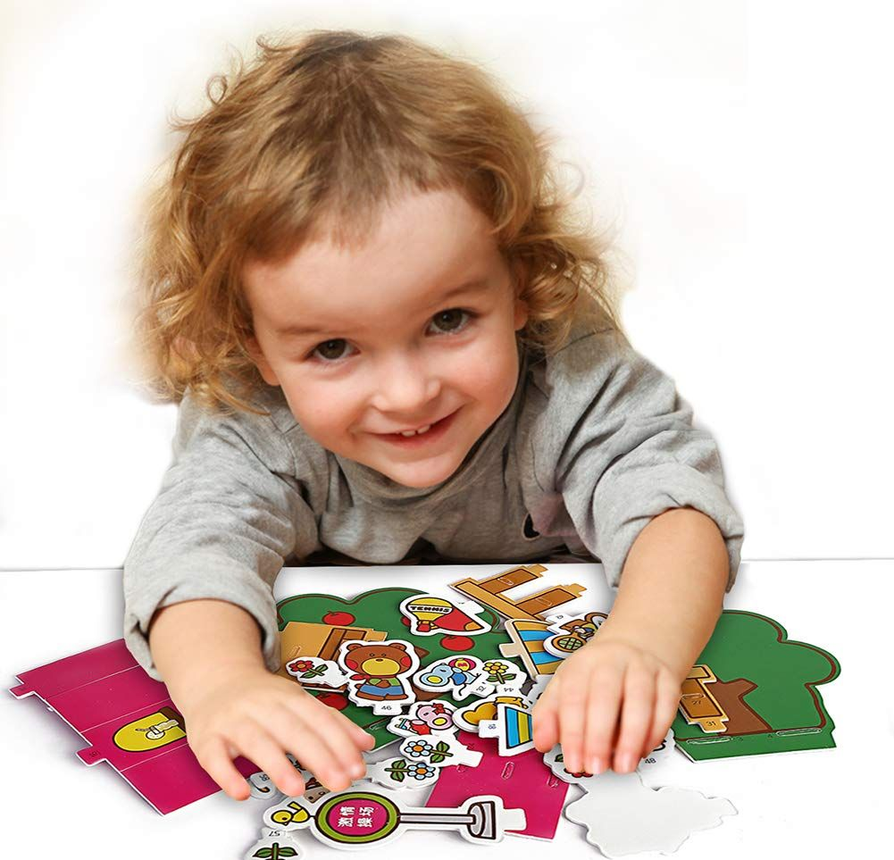 b7ac8be97 Amazon.com: Hello Kitty 3D Scene Puzzle - Beautiful Campus - Passion  Playground, Suitable for 4-8 Years Old Children, Art Puzzle Girls Toy Gifts  11.2'Lx8.2' ...