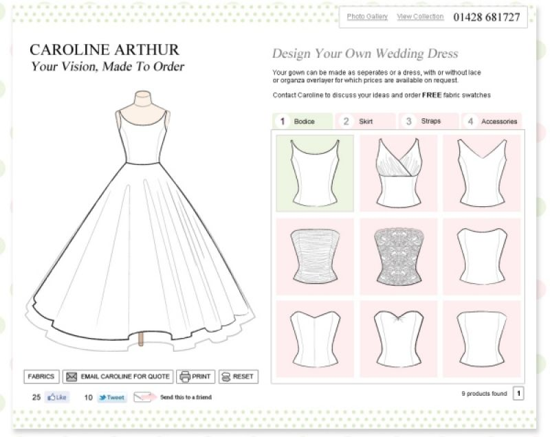41cc624772d Create Your Own Wedding Dress - New Fashion and Style Trends 2018